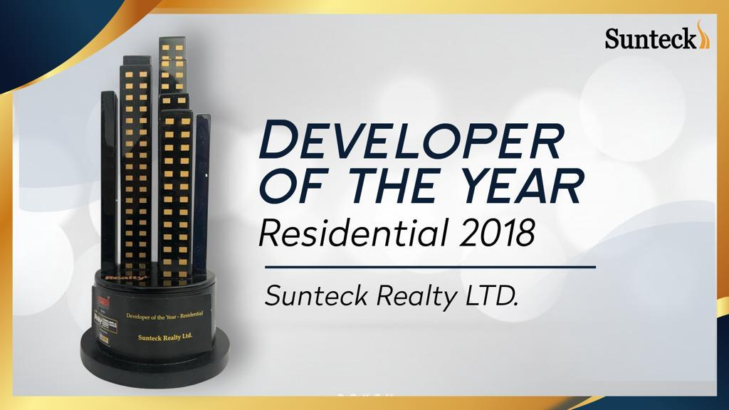 Developer of the Year Award Sunteck Realty
