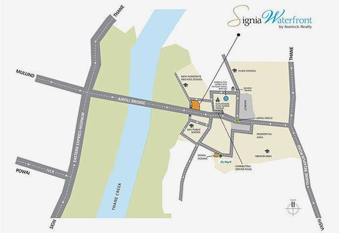 Map - Sunteck City - Property In Goregaon