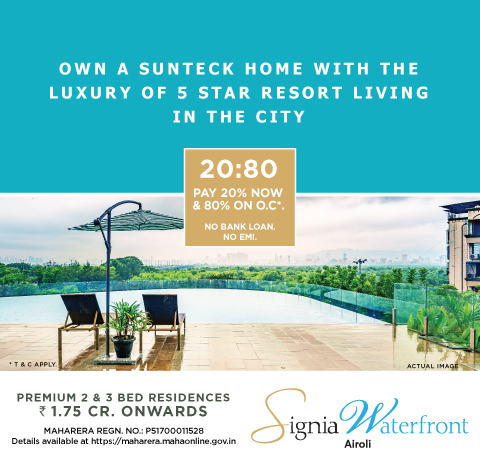 Airoli New Construction Projects With 2 Bhk 3 Bhk Flats Navi